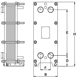 Пластинчатый теплообменник Tranter GC-051 N Артём Пластинчатый теплообменник Машимпэкс (GEA) ND50M Москва