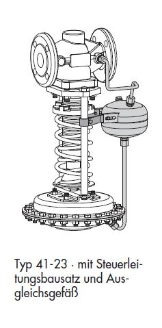 Регулятор давления Т 2513 тип 41-23