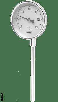 Стрелочный биметаллический термометр JUMO тип 608001/1863-818-891-12-104-46-46-100/000